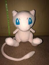 "Rare 2005 TOMY Pokemon 1:1 Life Size Talking MEW Plush Large 13"" Voice Box"