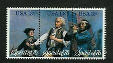 Sprit of 76 Drummer Boy, Old Drummer, Fifer Vintage Bicentennial Stamp from 1976