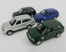 1:64 RMZ *SET OF 4* Land Rover RANGE ROVER SUV *DIECAST* NEW!