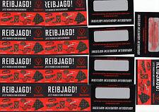 JÄGERMEISTER-20 RUBBELLOSE-REIBJAGD BEI JÄGERMEISTER-alle 20 Lose ungerubbelt-!!