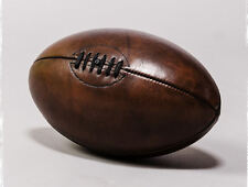 Framed Print - Vintage Leather Rugby Ball (Picture Poster Sport Art Football)