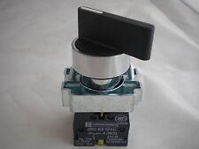 22MM montaje en panel Selector 3 posiciones mantenerse conectado 2 N/S contactos WL3PCO