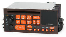 1995-2002 Chevy GMC Truck Van Radio AM FM CD Brown Orange Thanksgiving 15071233