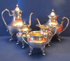 Sheridan Silverplate Tea and Coffee Service Six Pieces