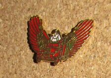 A9 PIN EAGLE WINGS RED TRUCK  PINS