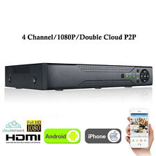 New XVR 4CH Channel CCTV Video Recorder 1080P Hybrid NVR AHD TVI CVI DVR 5-in-1