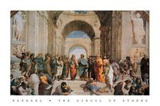 ART POSTER ~ RAPHAEL SCHOOL OF ATHENS