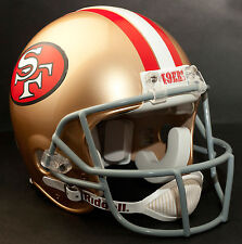 STEVE YOUNG Edition SAN FRANCISCO 49ers Riddell AUTHENTIC Football Helmet