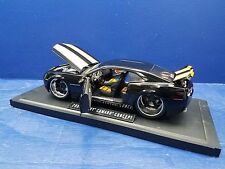 JADA 1/18 BIGTIME MUSCLE BLACK 2006 CHEVY CAMARO CONCEPT *ISSUE*
