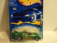 2002 Hot Wheels #93 Green Double Vision w/5 Spoke Wheels