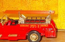Matchbox yesteryear Y6 rolls royce fire engine no label positionnement cosses issue 3