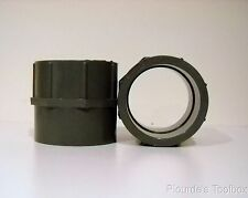 """New Chemtrol 3"""" PVC SCH-80 Coupling Pipe Fitting, Solvent Weld"""