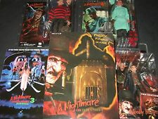 NECA - ULTIMATE FREDDY KRUEGER FIGURES LOT+ FURNACE!!! NIGHTMARE ON ELM STREET