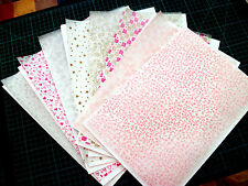 PRINTED VELLUM BACKING PAPERS - 35 SHEETS - TRANSLUSCENT