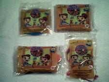"""FOUR- Different ~2005 """"MAYA & MIGUEL""""~ Wendy's Kids Meal Toys"""