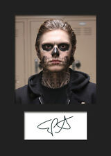 EVAN PETERS #2 A5 Signed Mounted Photo Print - FREE DELIVERY