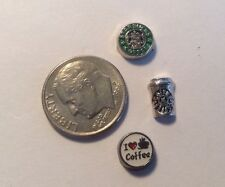 Mothers Day Charm Fits Origami Owl Starbucks Coffee Mom Love Heart Cup