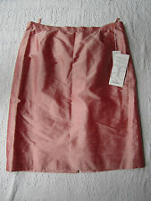 """Long Pink Silk Skirt in Size 20 by Elegance - BNWT - Special Occasion - W40"""""""