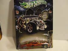 Hot Wheels Happy Halloween Orange Ford Gangster Grin