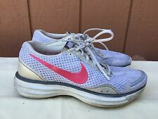 WOMEN'S NIKE LUNARTRAINER+ TRAINING SHOES SNEAKERS 318117-162 WHITE/ROSE US 7.5