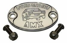 E6001-AS25N Aluminum Engine Motor Fender Hood Emblem AMC AMX 360 390 401 - USA