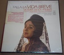 De Los Angeles/Fruhbeck de Burgos FALLA La Vida Breve - Angel BL-3672 SEALED