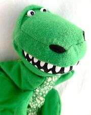 Burger King Toy Story Rex Plush Hand Puppet