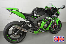 ZX10R 2016+ SP Engineering Polished Stainless Stubby Moto GP (Decat) Exhaust