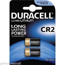 4 x Duracell CR2 CR-2 CR2EP CR17355 DLCR2 Lithium Foto Batterie Blister