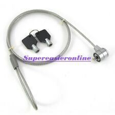 3.6Ft Security Steel Chain Cable Lock & Keys For Notebook Laptop Computer