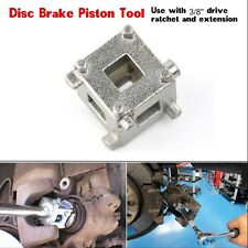 "Car VAN Brake Disc Piston Cube 3/8"" Drive Calliper Rewind Tool Calliper Adaptor"