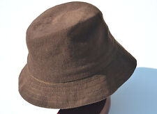 KANGOL WORSTED WOOL PALMER BROWN TRILBY MENS TRADITIONAL HAT CAP MEDIUM NEW NWT