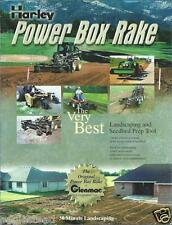 Equipment Brochure - Harley - Power Box Rake - Landscape Seedbed Prep (E2722)