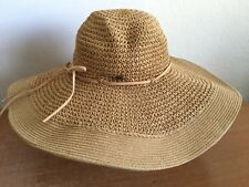 Hat Women HBY MIAMI Flopy 100% Paper Straw Beach Pool Style