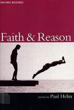 Faith and Reason Oxford Readers