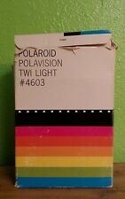 Vintage Polaroid Polavision Twi Light #4603 WITH BOX