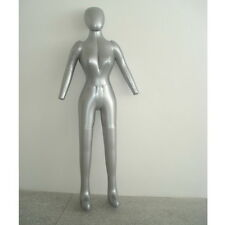 New Woman Whole Body With Arm Inflatable Mannequin Fashion Dummy Torso Model ZQ