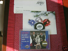 1993 UPPER DECK LIMITED EDITION #7045 OF 10,000 L.A. KINGS HOCKEY HOLIDAY CARD