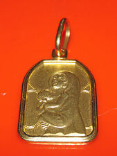 SECONDHAND 14ct YELLOW  GOLD VIRGIN MARY PENDANT