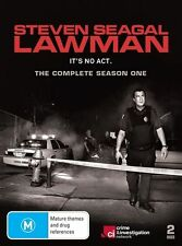 Steven Seagal - Lawman : Season 1 (DVD, 2010, 2-Disc Set  Region 4 )
