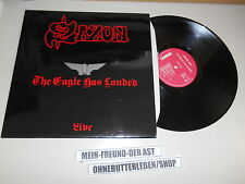 LP Metal Saxon - The Eagle Has Landed / Live (10 Song) CARRERE