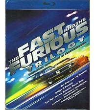 The Fast and The Furious 7 Movies Blu-ray Disc Full Collection + Slip Cover