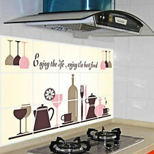 New PVC DIY Kitchen Pattern Removable Vinyl Decal Home Decor Wall Sticker  Y4