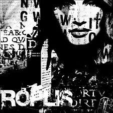 Fline: Metropolis I Fertig-Bild 30x30 Wandbild Städte modern schwarz-weiss