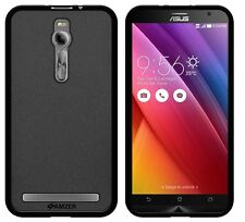 AMZER PUDDING TPU FIT CASE FOR ASUS ZENFONE 2 ZE551ML WITH HAND NECK LANYARD