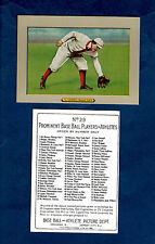"1910 Turkey Red T3: #29 AMBY McCONNELL, Red Sox REPRINT (2.5"" X 3.5"" size)"