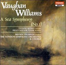 "Symphony 1 "" Sea "" 1992 by Vaughan Williams, R. eXLibrary"