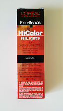 L'Oreal Excellence HiColor HiLights for Dark Hair Only MAGENTA Highlights