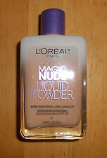 1 LOREAL MAGIC NUDE LIQUID POWDER BARE SKIN PERFECTING MAKEUP 310 LIGHT IVORY