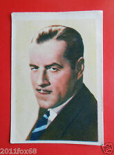 figurines actors acteurs cards nestle stars of the silver screen #93 jack holt f